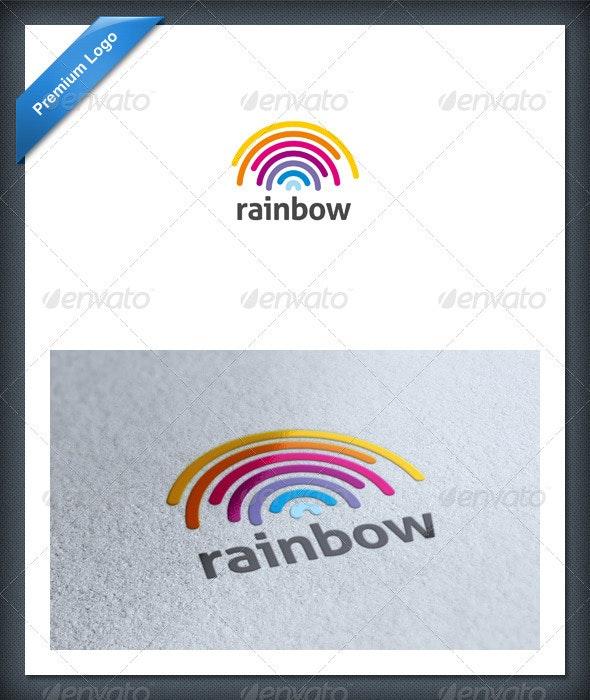 Rainbow Logo Template - Abstract Logo Templates