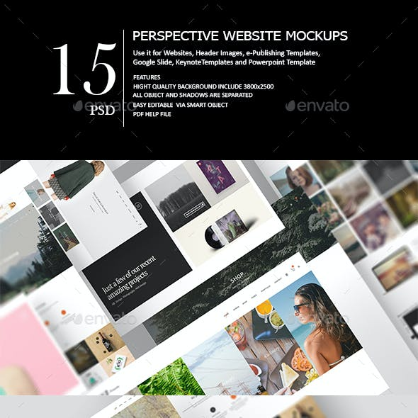 Perspective Web Mock-Up