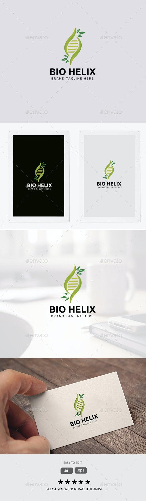 Bio Helix/DNA Logo - Abstract Logo Templates