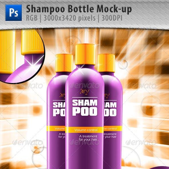 Shampoo Bottle Mock-up