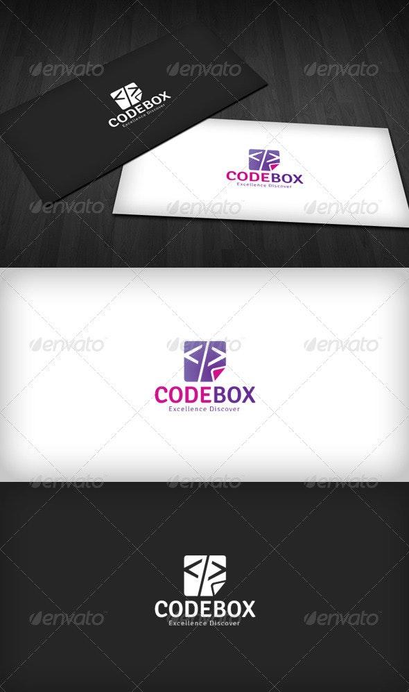 Code Box Logo - Vector Abstract