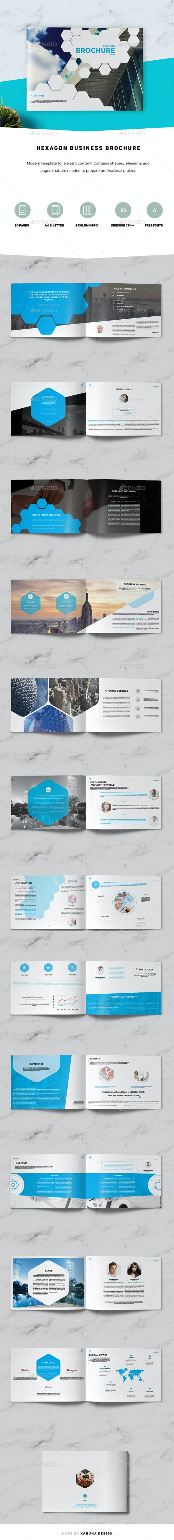 Hexagon Business Brochure - Corporate Brochures