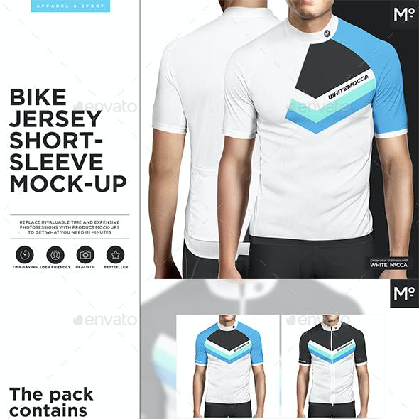 Bike Jersey Shortsleeve Mock-up