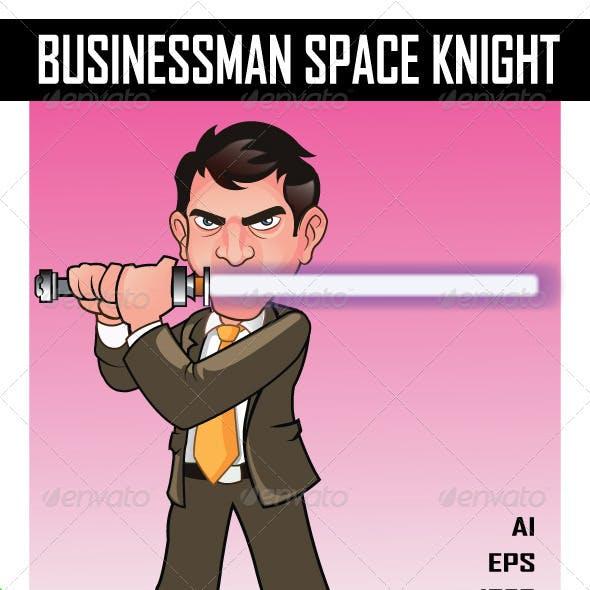 Businessman Space Knight
