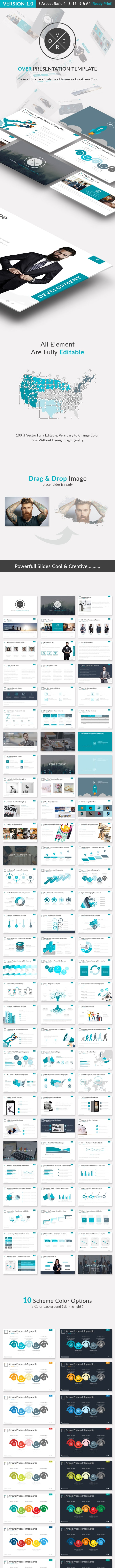 OVER - Minimal Presentation Template - Business PowerPoint Templates