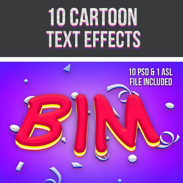 Cartoon Text Effects 2