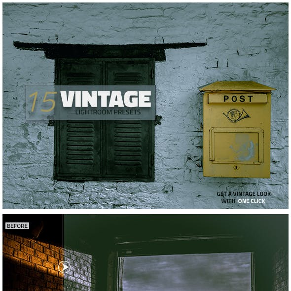 15 Vintage Lightroom Presets