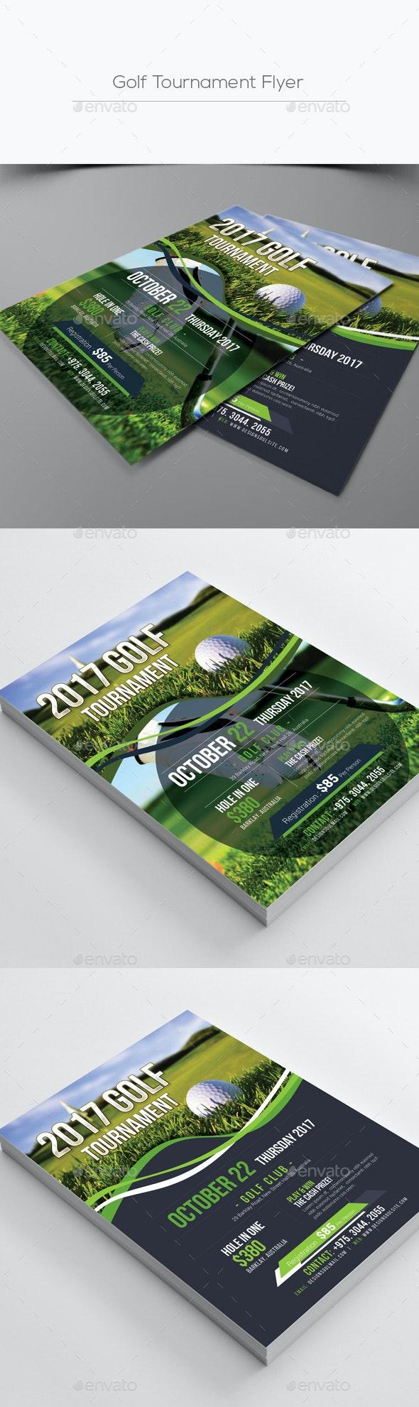Golf Tournament Flyer - Corporate Flyers
