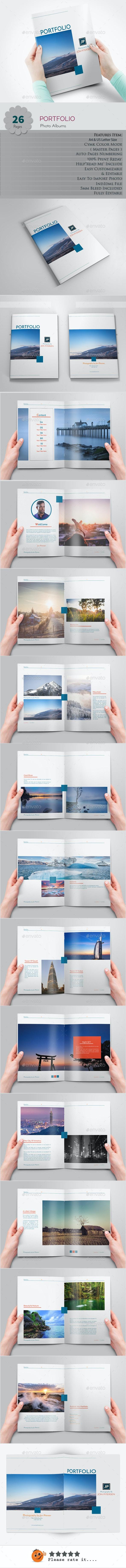 Portfolio Photo Albums - Photo Albums Print Templates