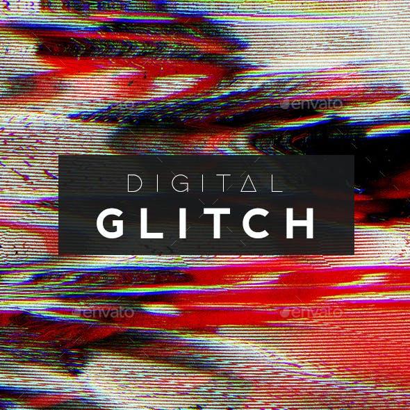 120 Digital Glitch Backgrounds