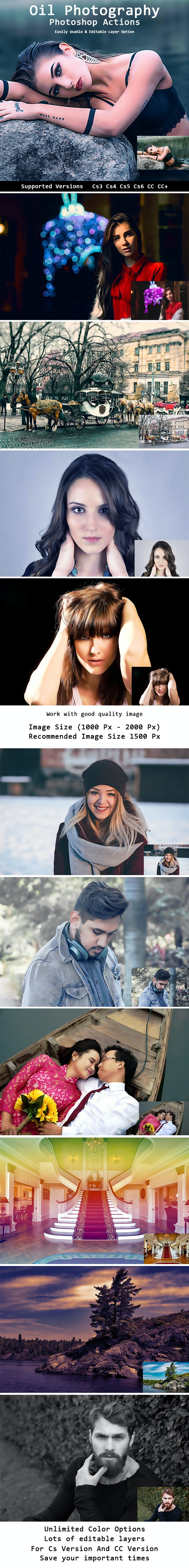 Oil Photography Actions - Photo Effects Actions