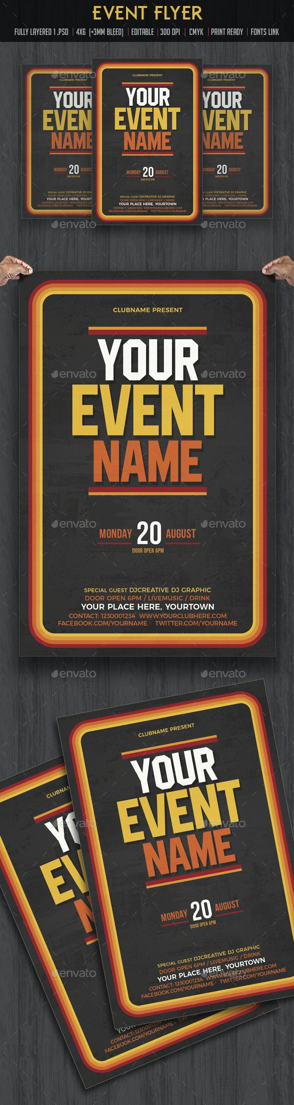 Event Flyer Template - Events Flyers