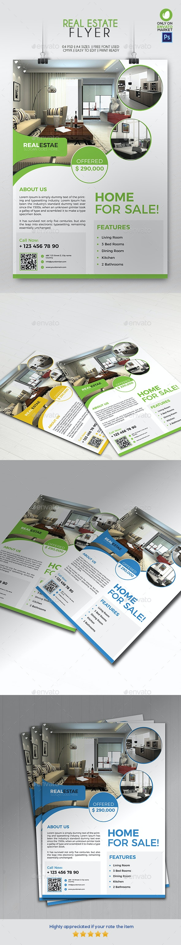 Real Estate Flyer 01 - Corporate Flyers