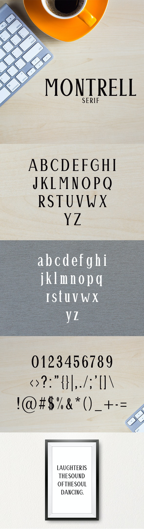 Montrell Serif Typeface - Serif Fonts
