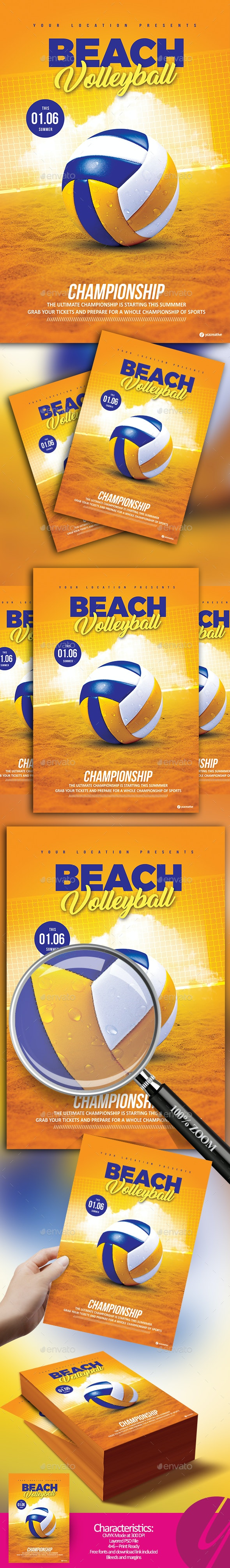 Beach Volleyball Championship - Sports Events