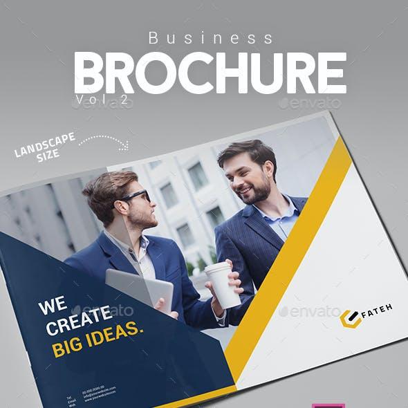 Business Brochure Vol.2 Landscape