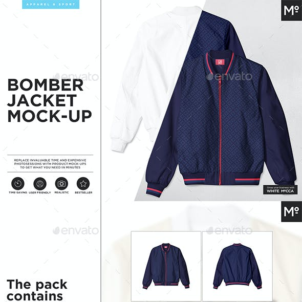 The Bomber Jacket Mock-up