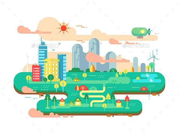 Green City Flat - Technology Conceptual