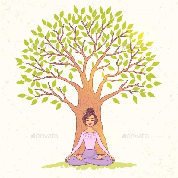 Tree Girl Lotus