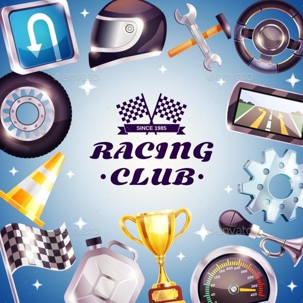 Racing Club Frame - Sports/Activity Conceptual