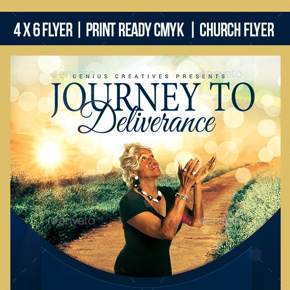 Journey Church Flyer Template