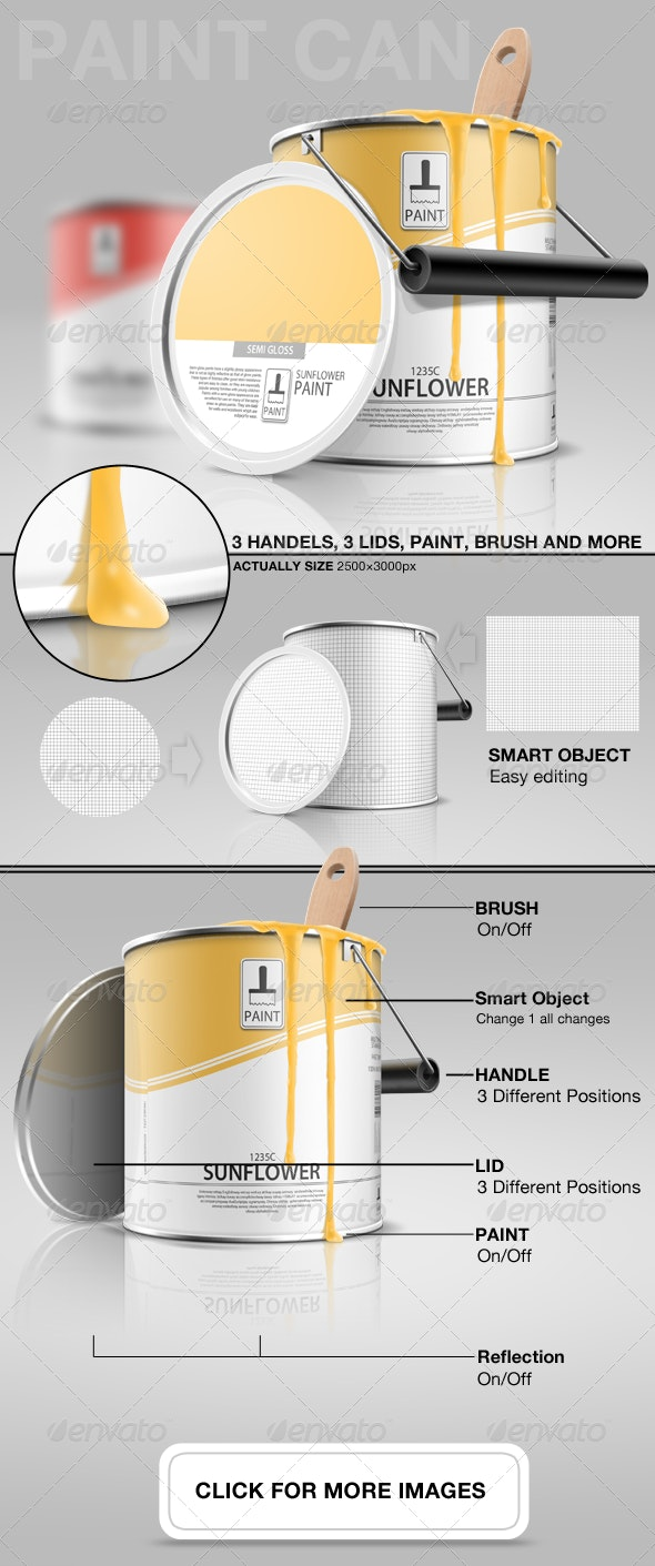 Paint Can - Miscellaneous Packaging