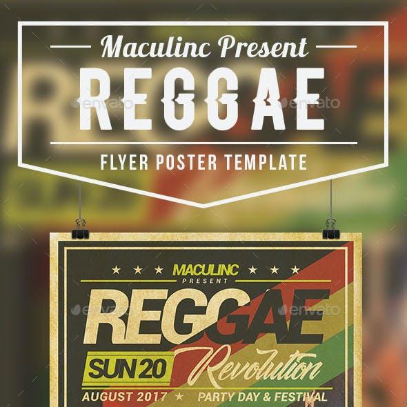 Reggae Roots Flyer/Poster