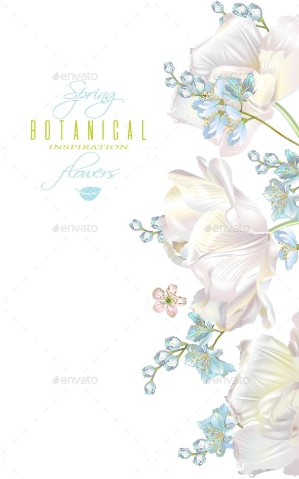 Spring Flower Banner - Flowers & Plants Nature
