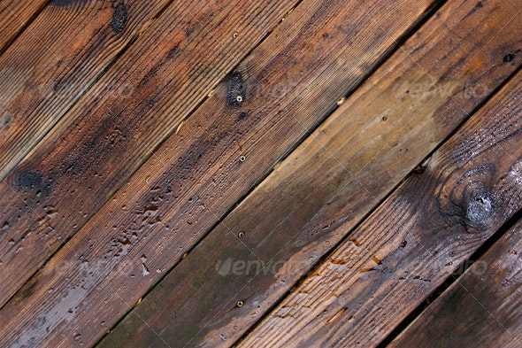 Wet Wood Texture II - Wood Textures