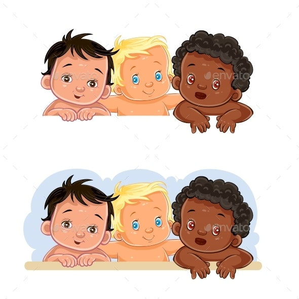 Illustrations of Children - People Characters