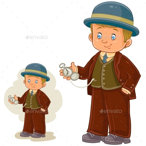 Boy Dressed in Costume - People Characters