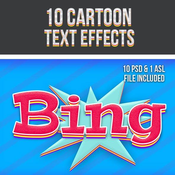 Cartoon Text Effects 3