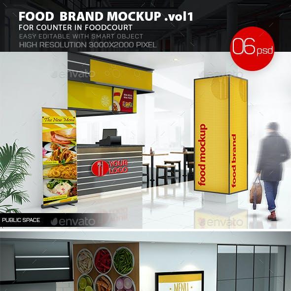 Food Brand Mockup v.1
