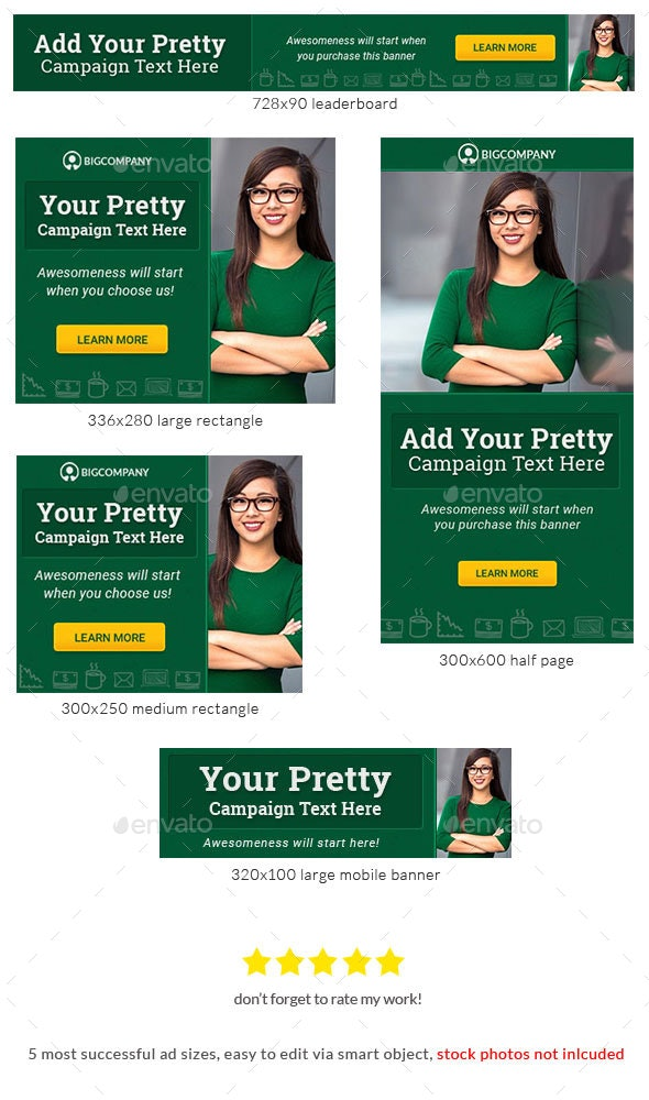 Corporate Web Banner Design Template 72 - Lite - Banners & Ads Web Elements