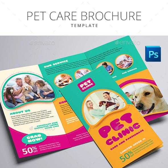 Pet Care Brochure