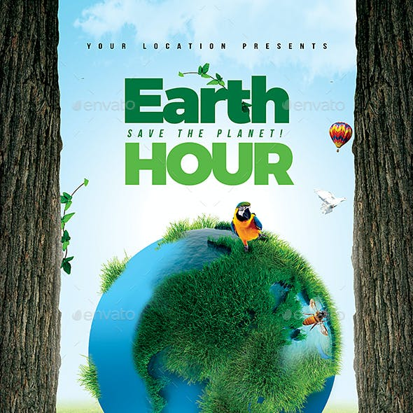 Earth Hour Flyer