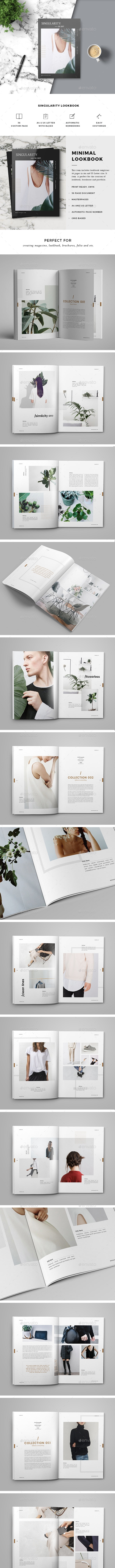 LookBook Magazine - Magazines Print Templates