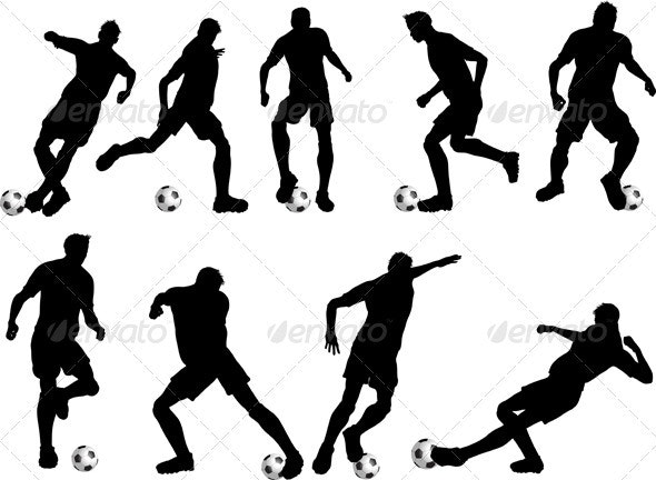 Soccer players - Sports/Activity Conceptual