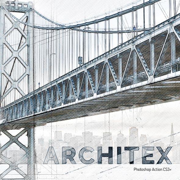 Architex CS3+ Photoshop Action