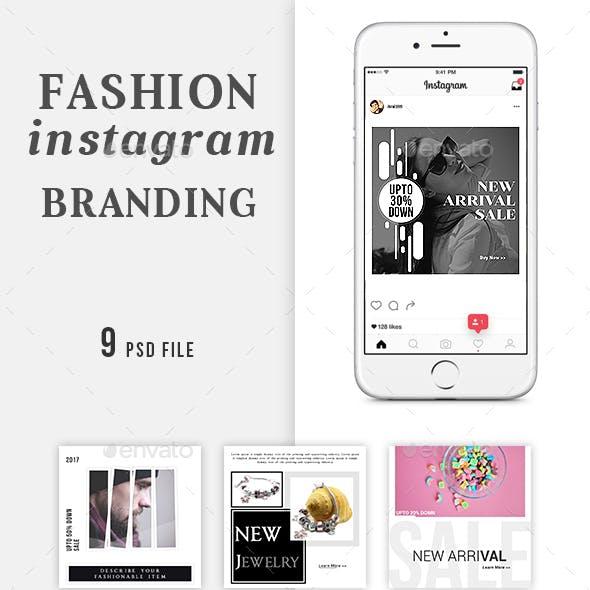 Fashion Instagram Branding