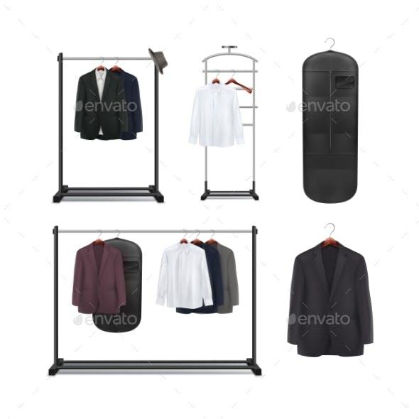 Set of Clothes Racks