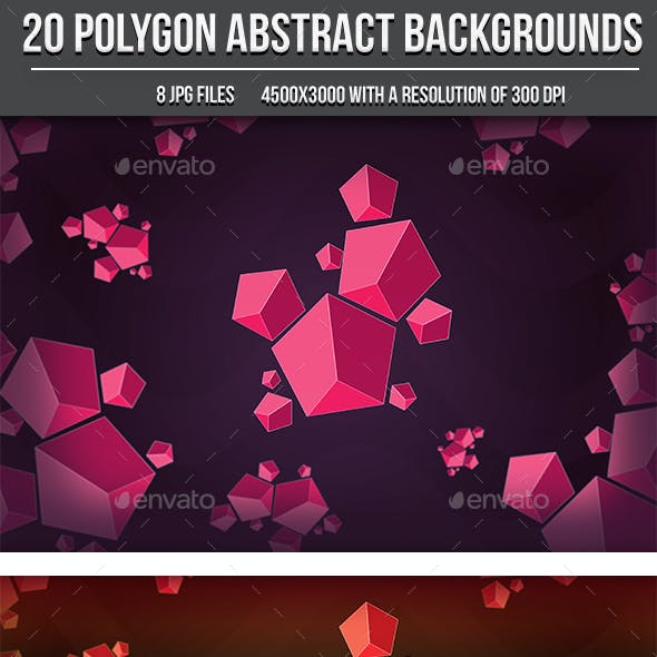 Abstract Polygons Backgrounds
