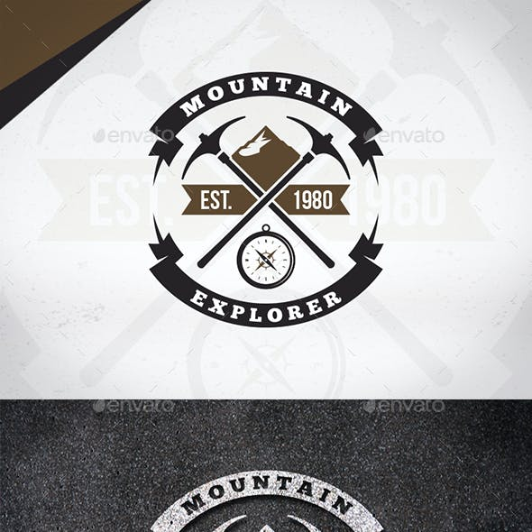 Mountain Explorer Logo Template