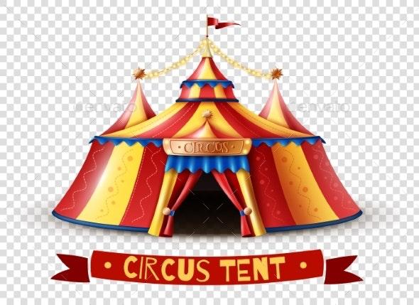Circus Tent Transparent Background Image - Backgrounds Decorative