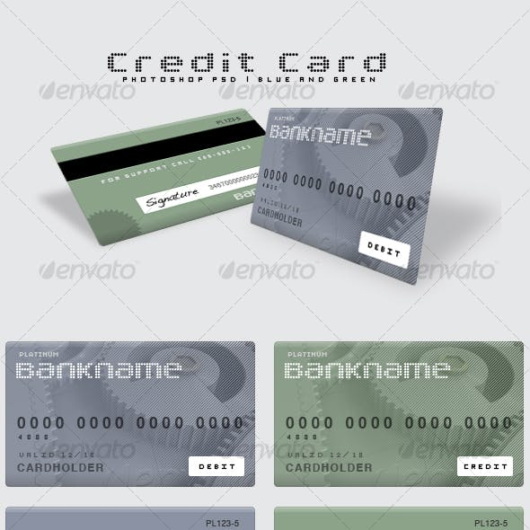 Flexible Photoshop Credit Card