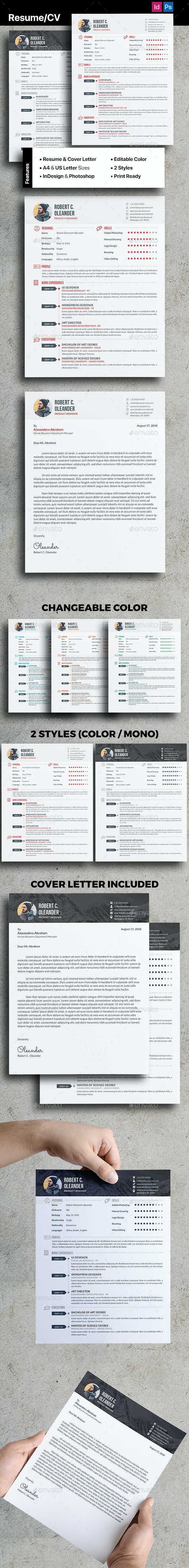 Resume/CV - Corporate Brochures