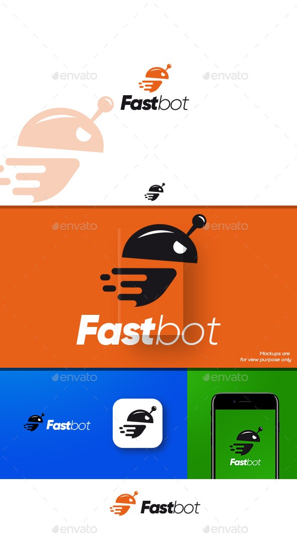 Fastbot Logo - Objects Logo Templates