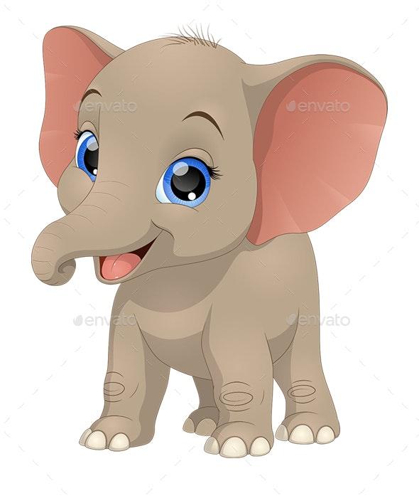 Elephant - Animals Characters