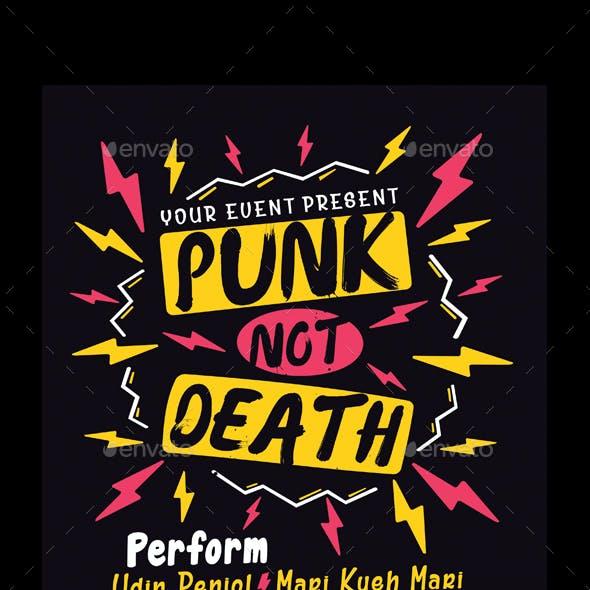 Punk Music Event Flyer