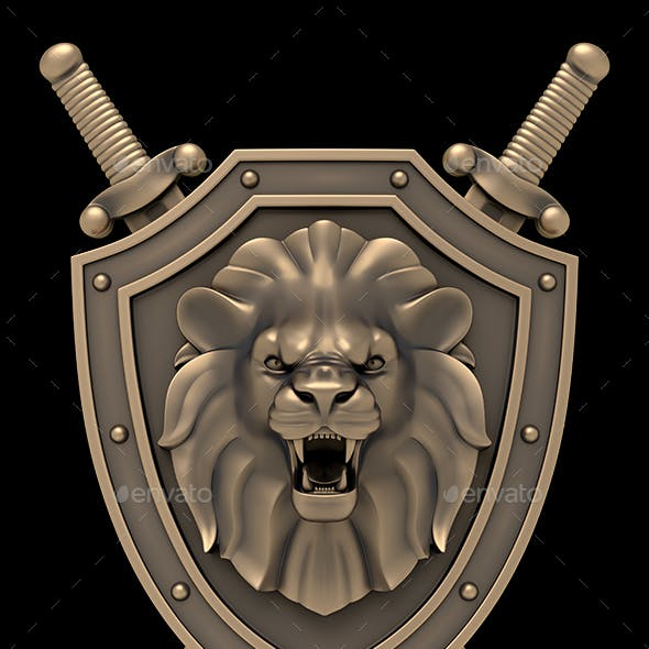 Lion's Head Blazon